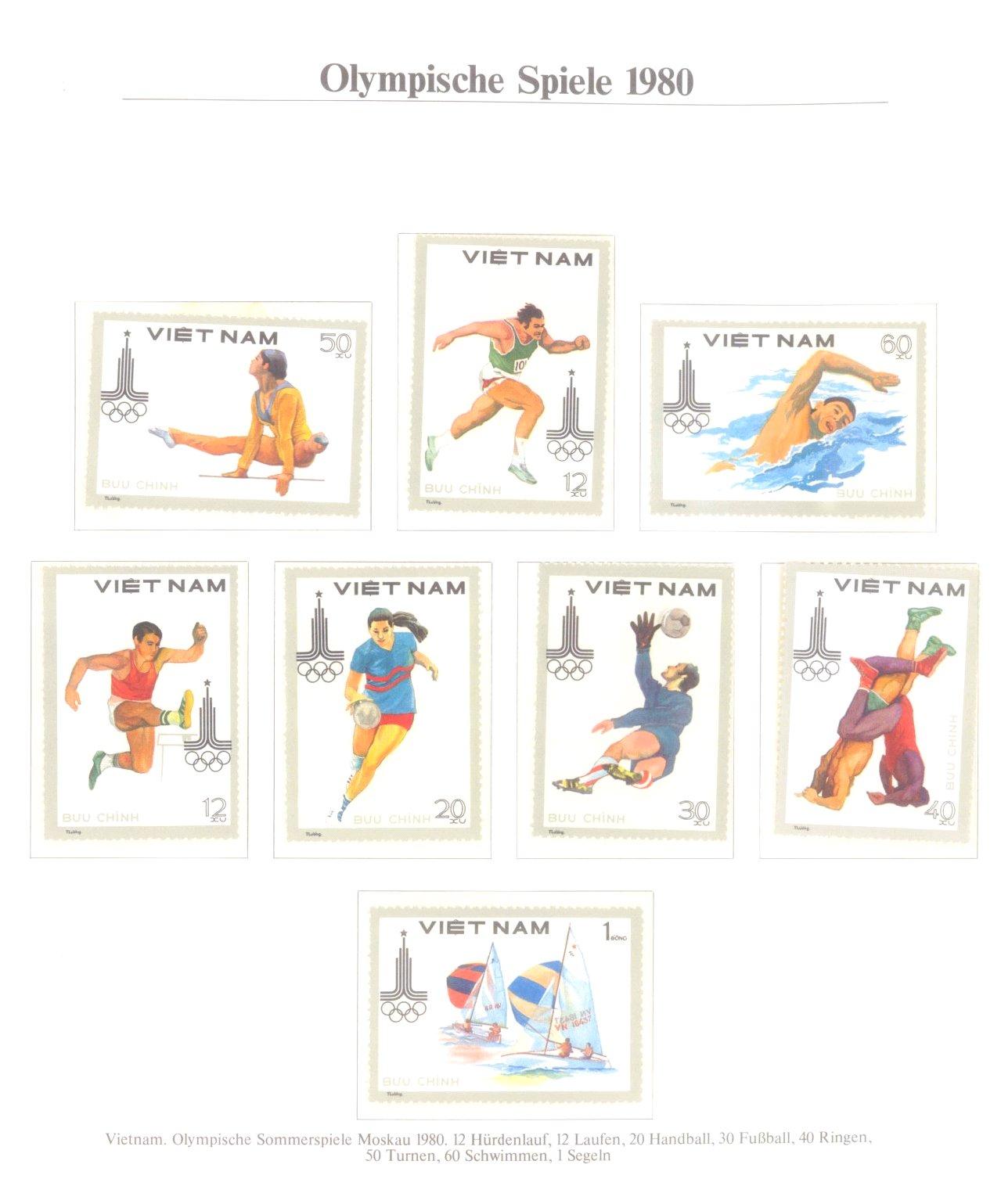 3 Alben Olympische Spiele 1980 in Moskau / Lake Placid-8