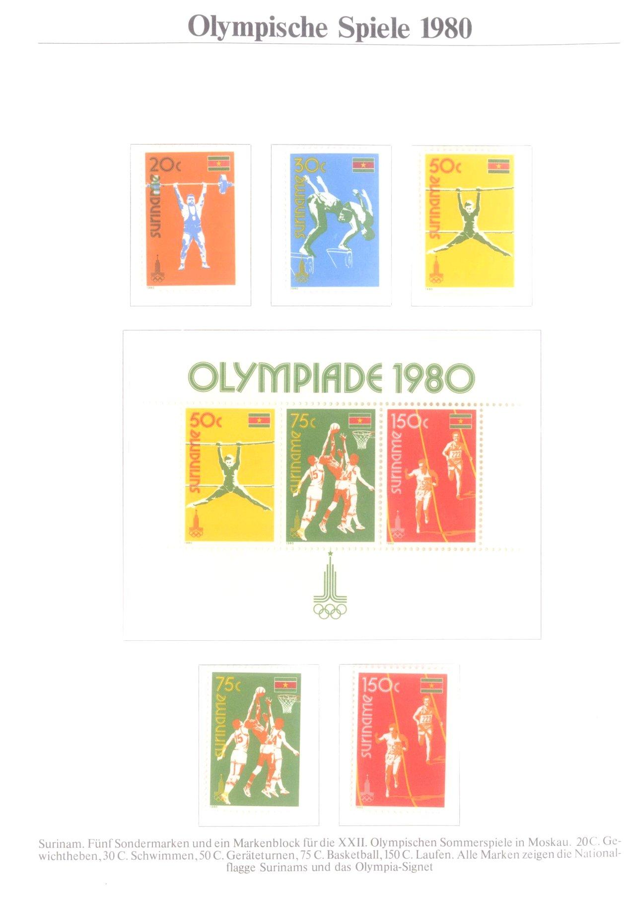 3 Alben Olympische Spiele 1980 in Moskau / Lake Placid-9