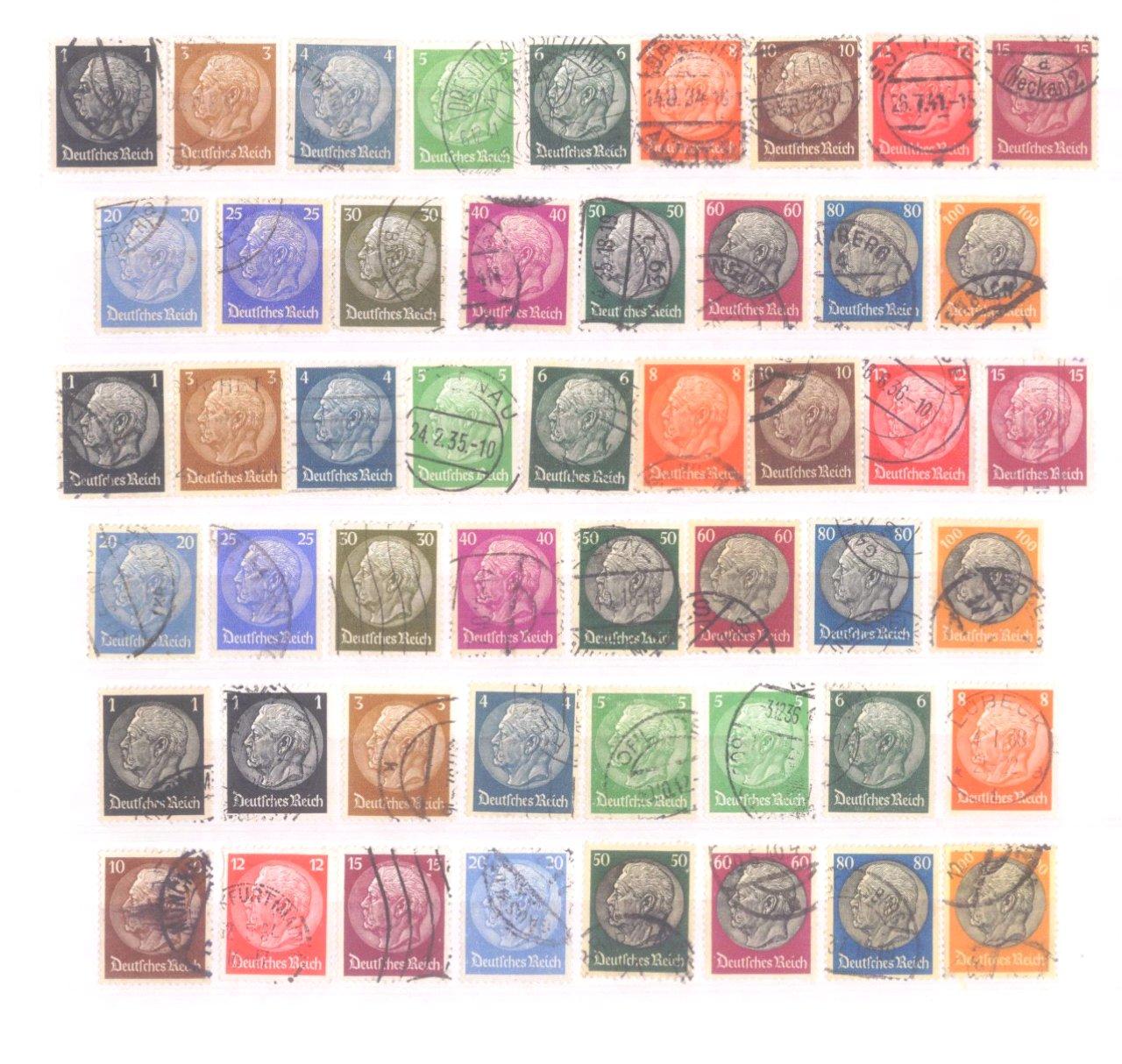Sammlung Deutsches Reich in 2 Alben, 1933-1945-1