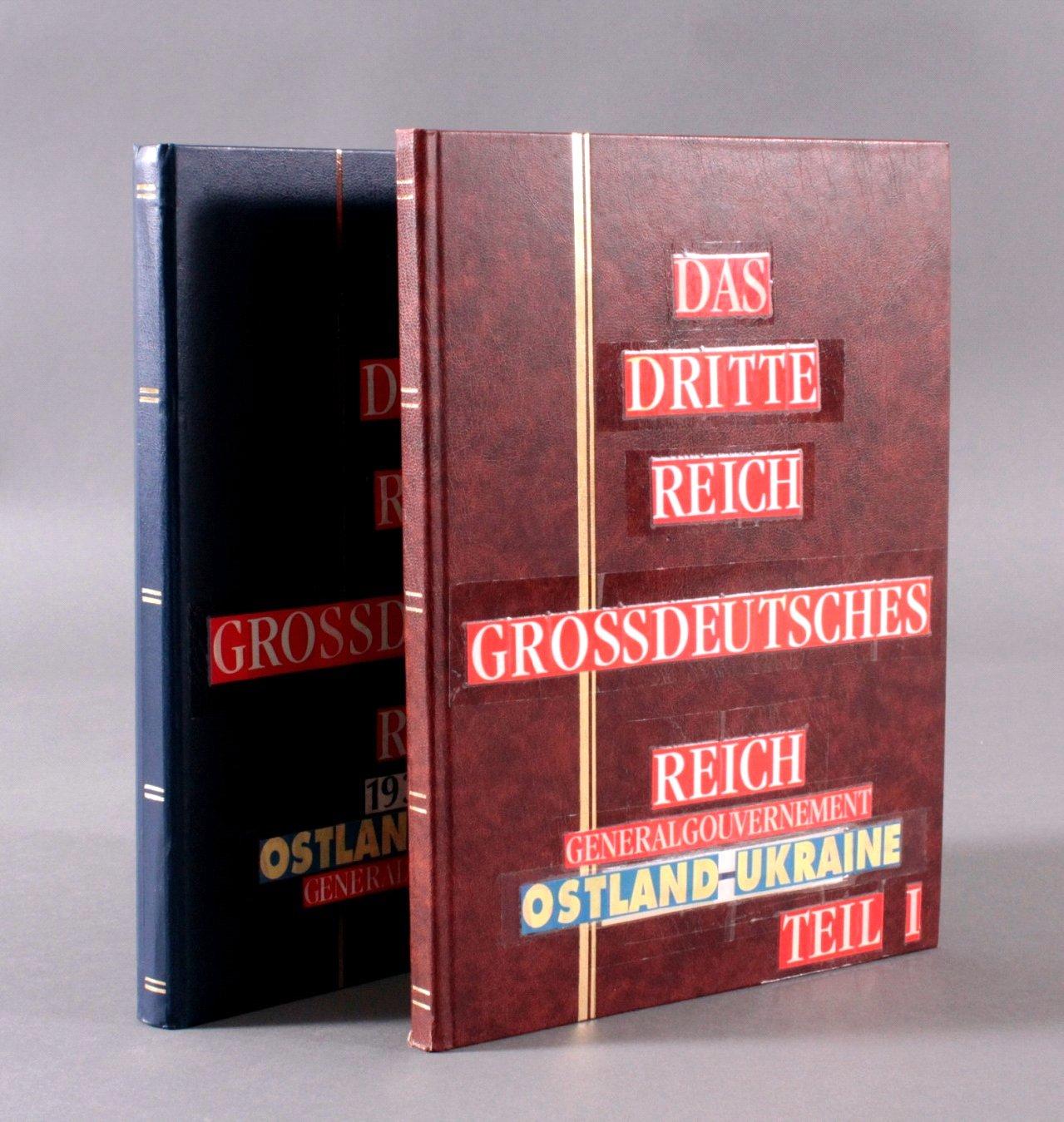 Sammlung Deutsches Reich in 2 Alben, 1933-1945-5