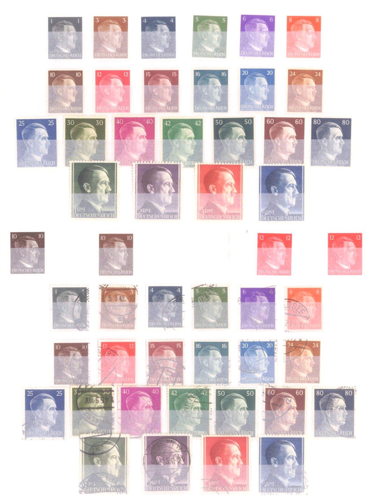 Sammlung Deutsches Reich in 2 Alben, 1933-1945-20