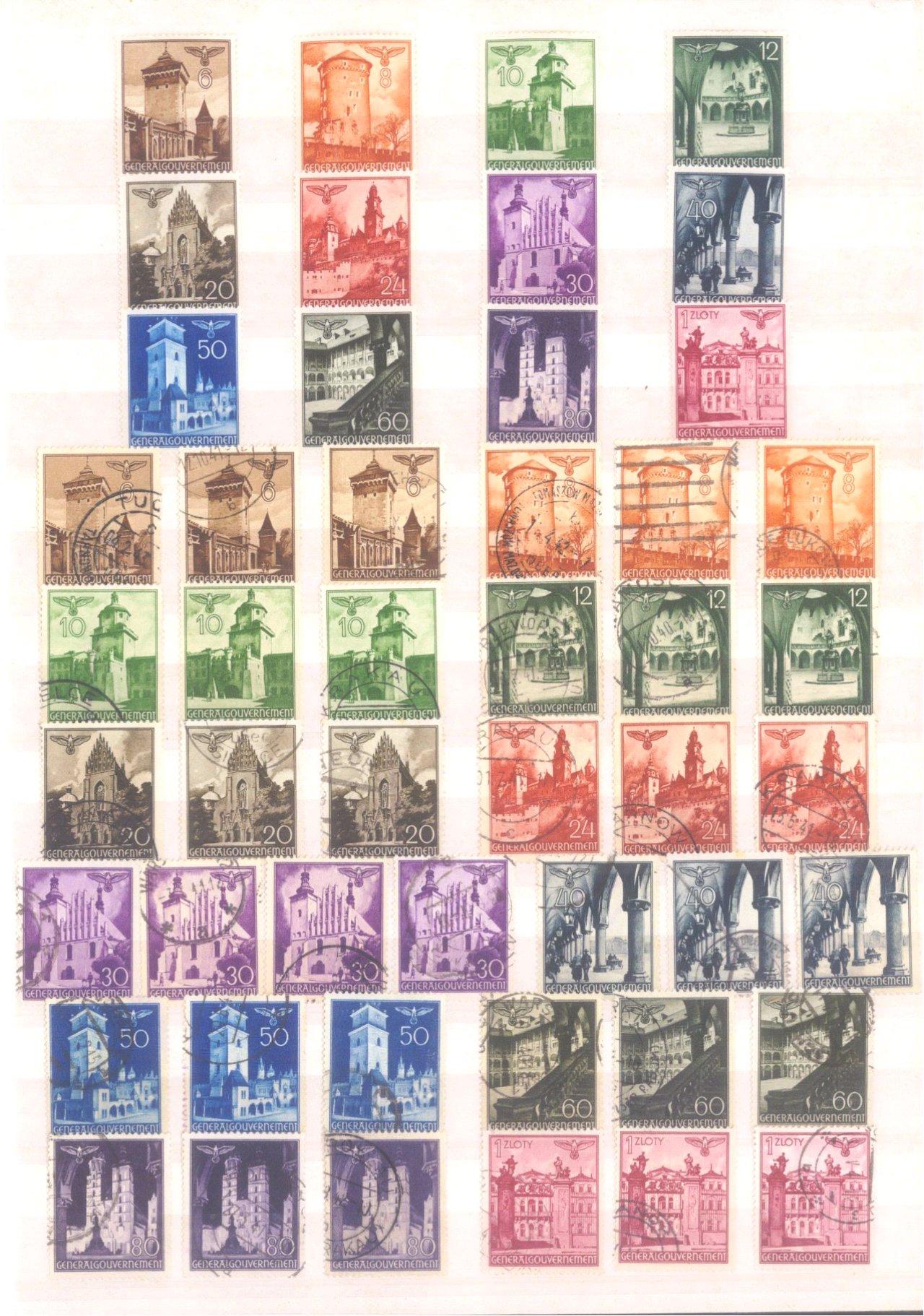 Sammlung Deutsches Reich in 2 Alben, 1933-1945-31
