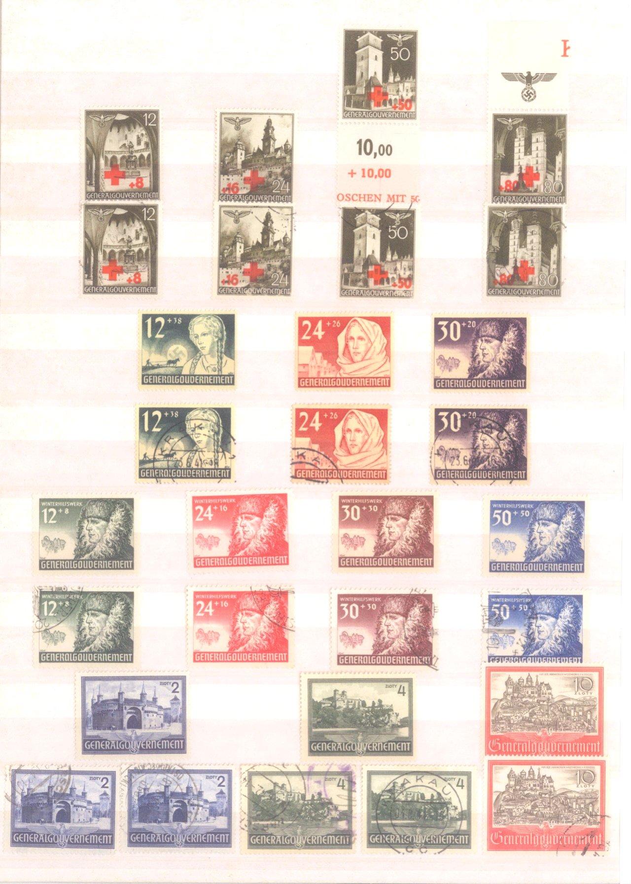 Sammlung Deutsches Reich in 2 Alben, 1933-1945-32