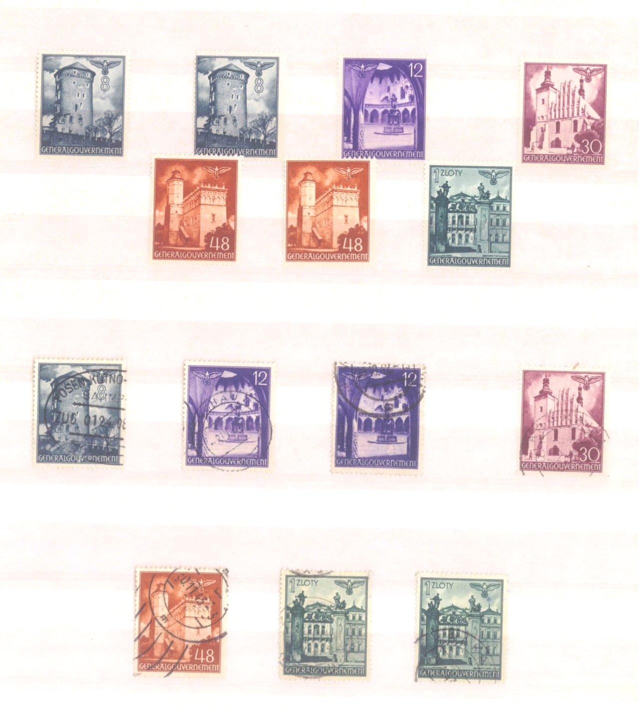 Sammlung Deutsches Reich in 2 Alben, 1933-1945-33