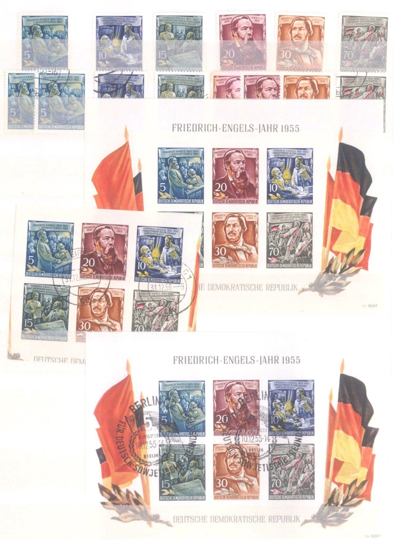 Sammlung DDR in 7 Alben, 1949-1990-2