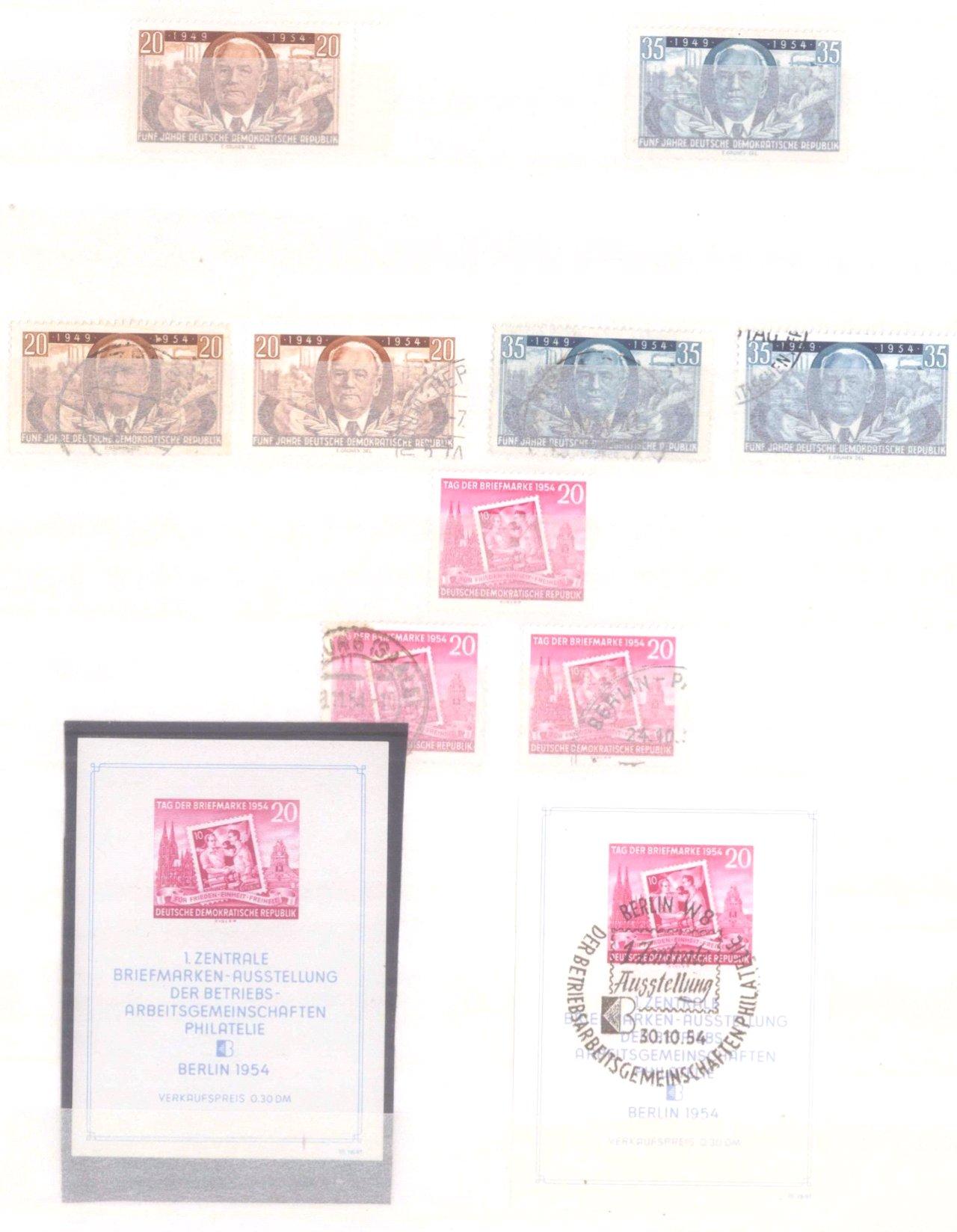 Sammlung DDR in 7 Alben, 1949-1990-3