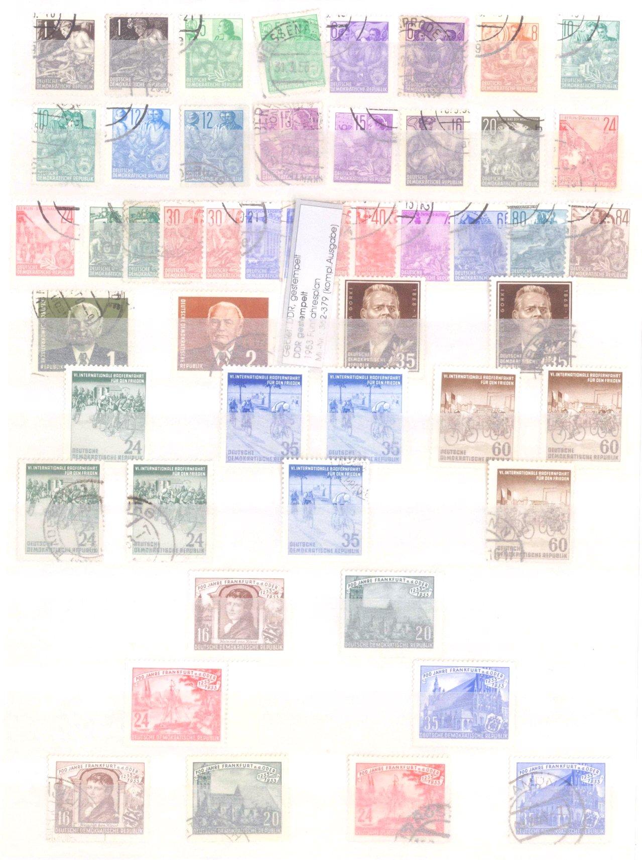 Sammlung DDR in 7 Alben, 1949-1990-4
