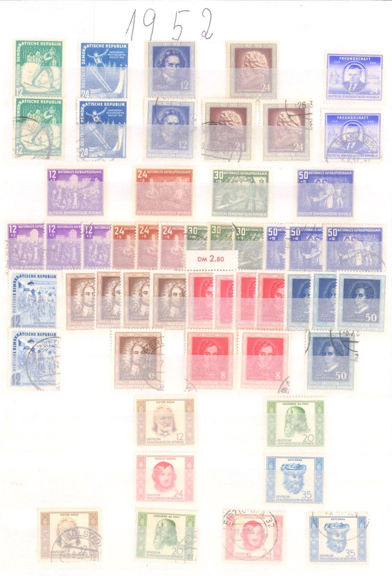 Sammlung DDR in 7 Alben, 1949-1990-8