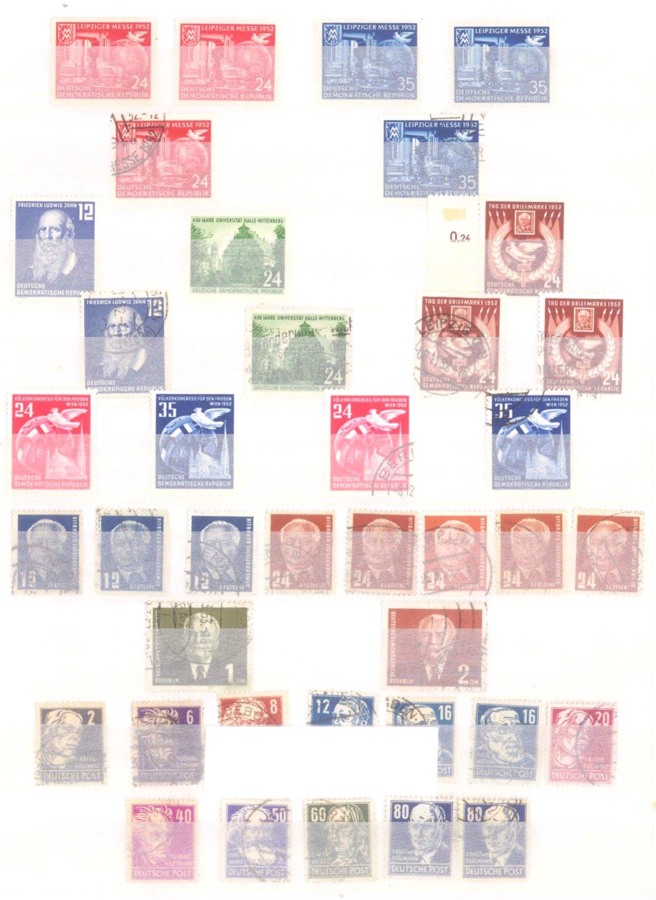 Sammlung DDR in 7 Alben, 1949-1990-9