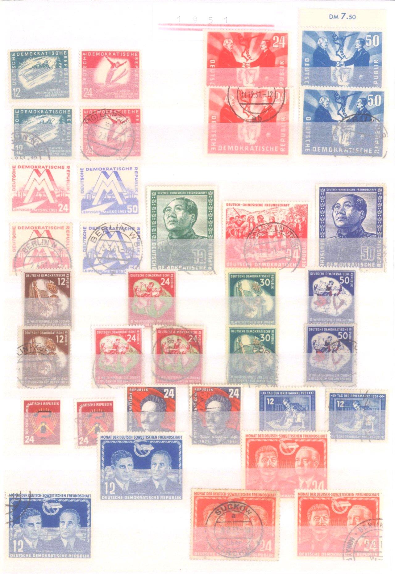 Sammlung DDR in 7 Alben, 1949-1990-10