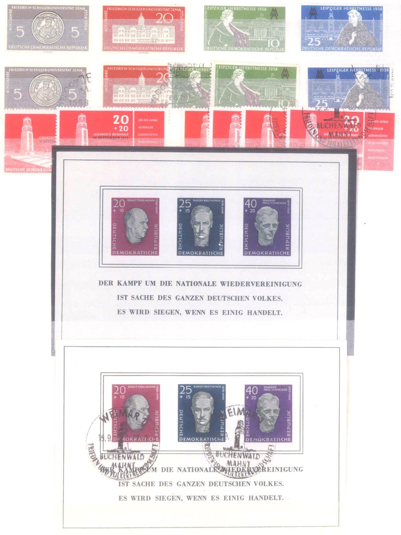 Sammlung DDR in 7 Alben, 1949-1990-12