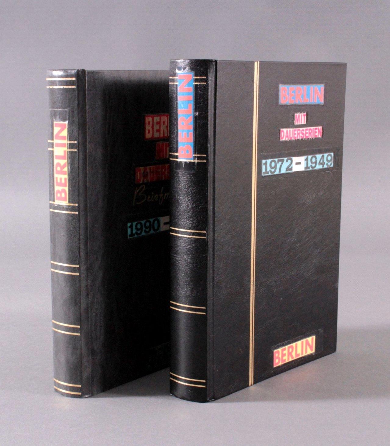 Sammlung Berlin ab 1949 mit Sonderaufstellung d. Dauermarken-5