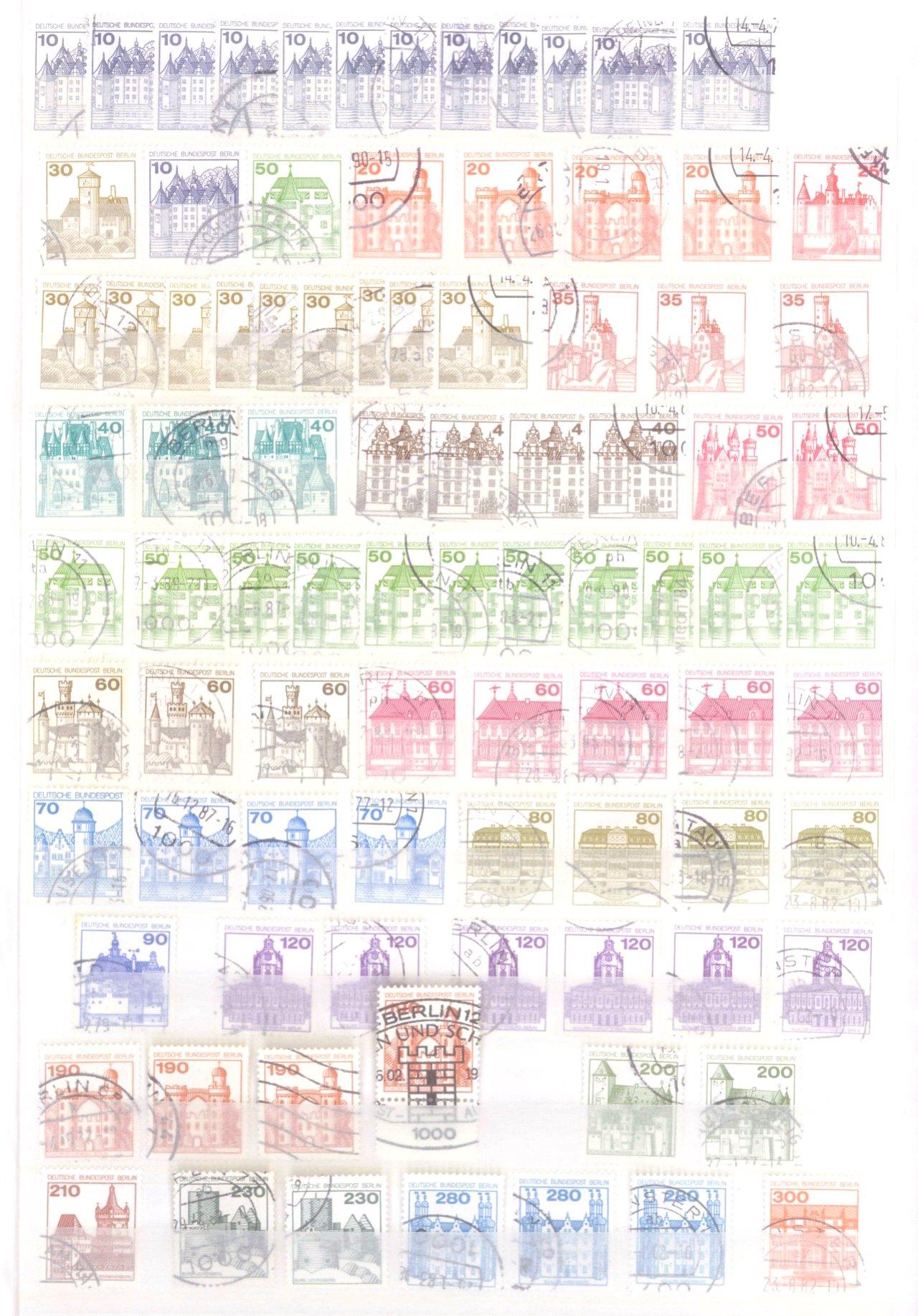 Sammlung Berlin ab 1949 mit Sonderaufstellung d. Dauermarken-40