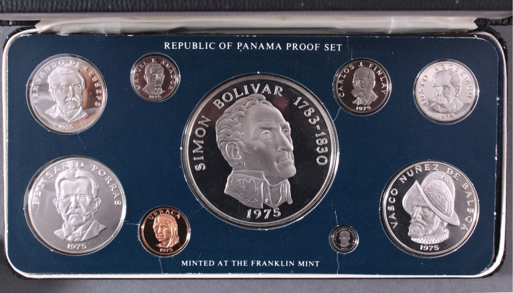 Proof Set Panama 1975