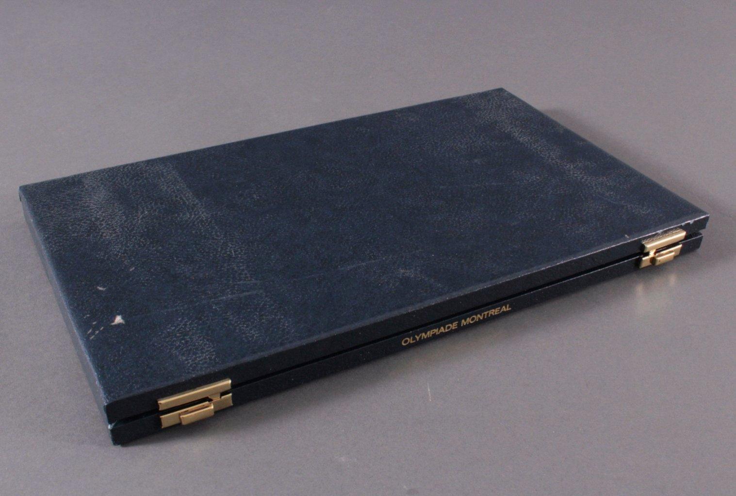 Komplettes Set Gedenkmünzen Montreal 1976-3