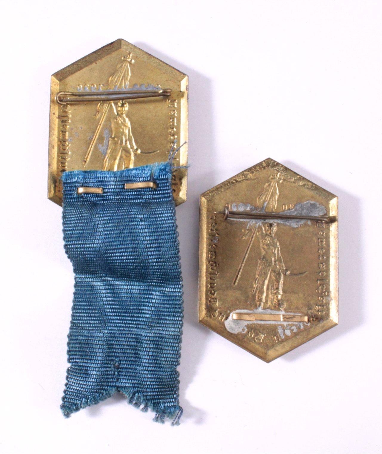 2 Abzeichen Hoch- und Deutschmeisterorden 1930-1