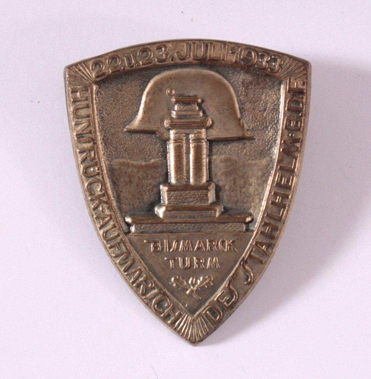 Veranstaltungsabzeichen Hunsrückaufmarsch 1933