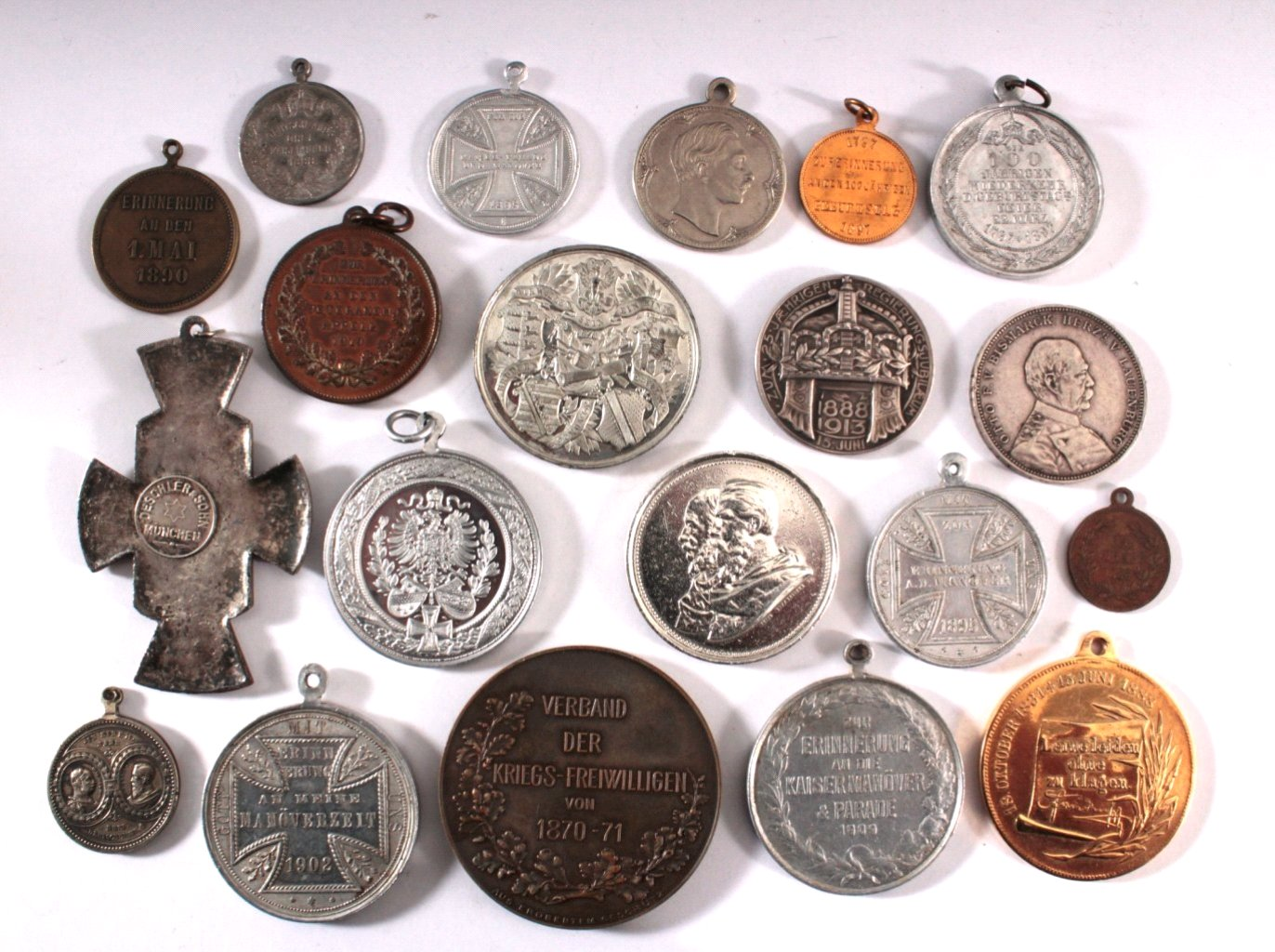 Medaillen und Anhänger Kaiserreich