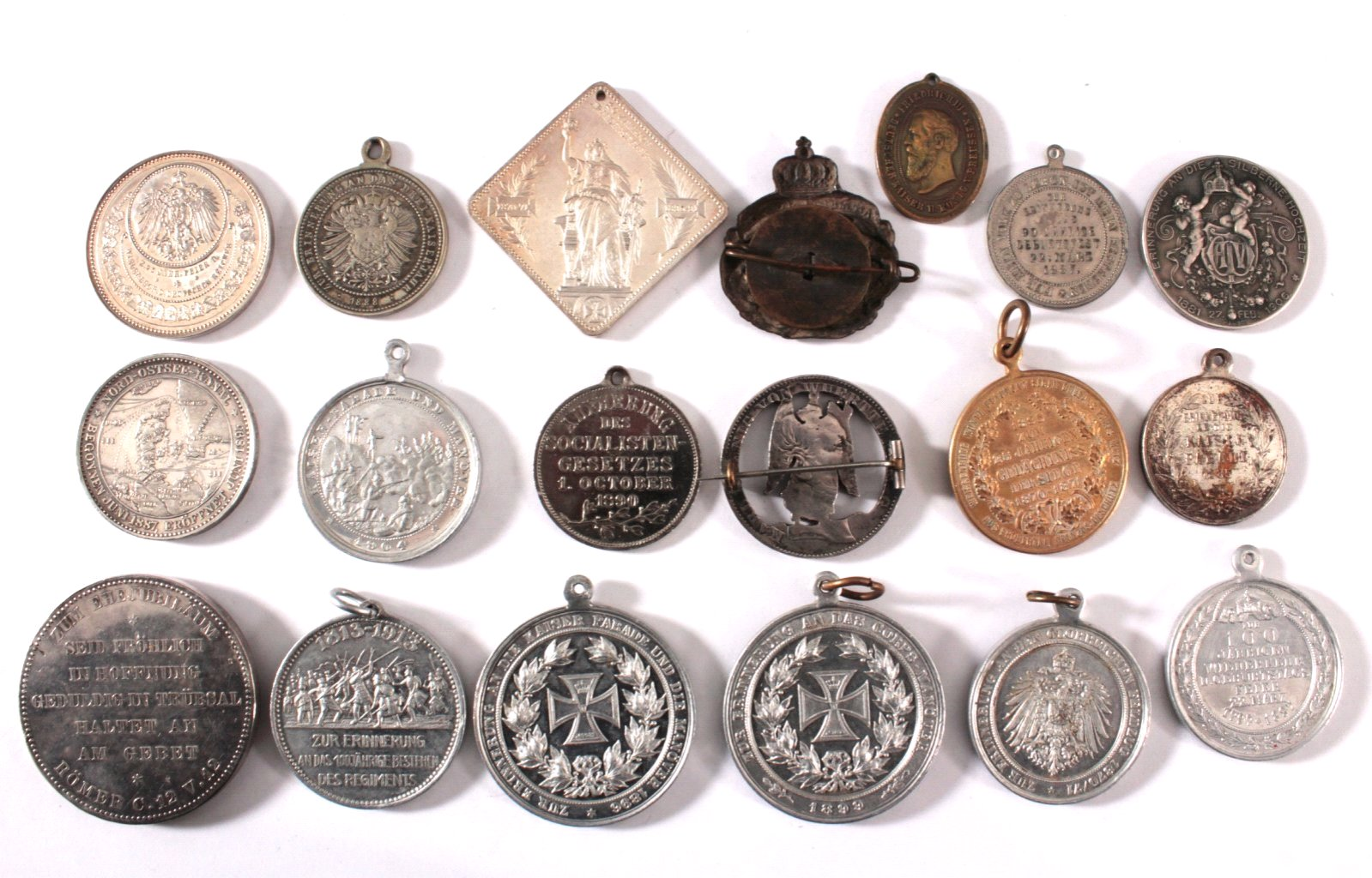 Medaillen und Anhänger Kaiserreich-1