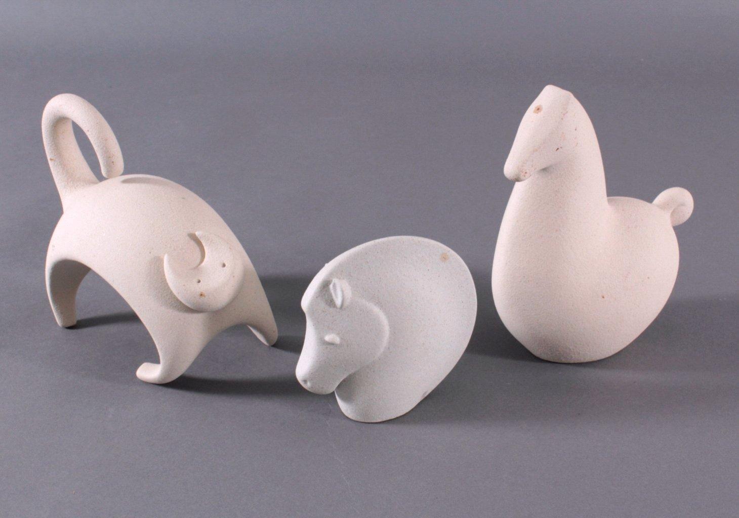 Lineasette Keramik Skulpturen, Design Giuseppe Buco