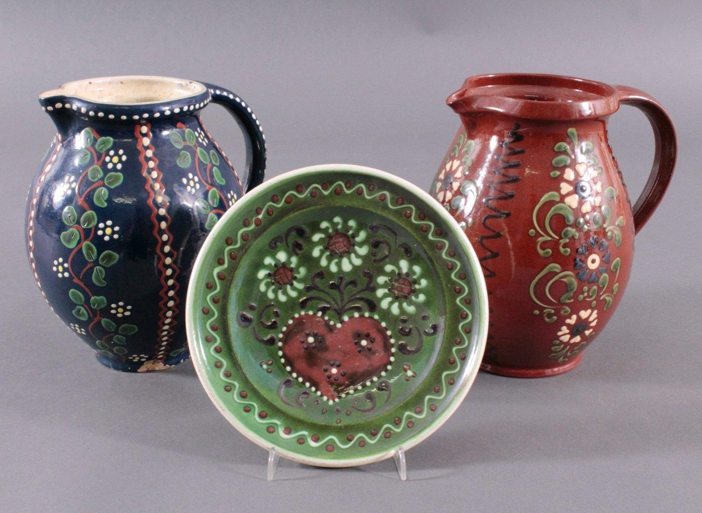 Drei Teile Keramik, Schneider Marburg