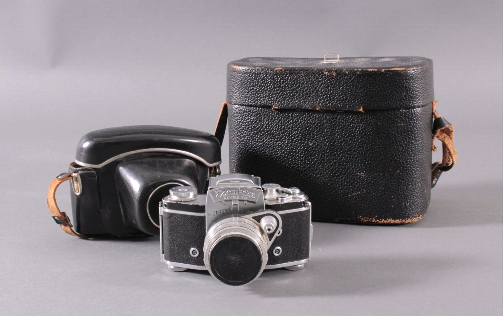 Spiegelreflex-Kamera Exakta Varex IIa. 24x36mm. 1958