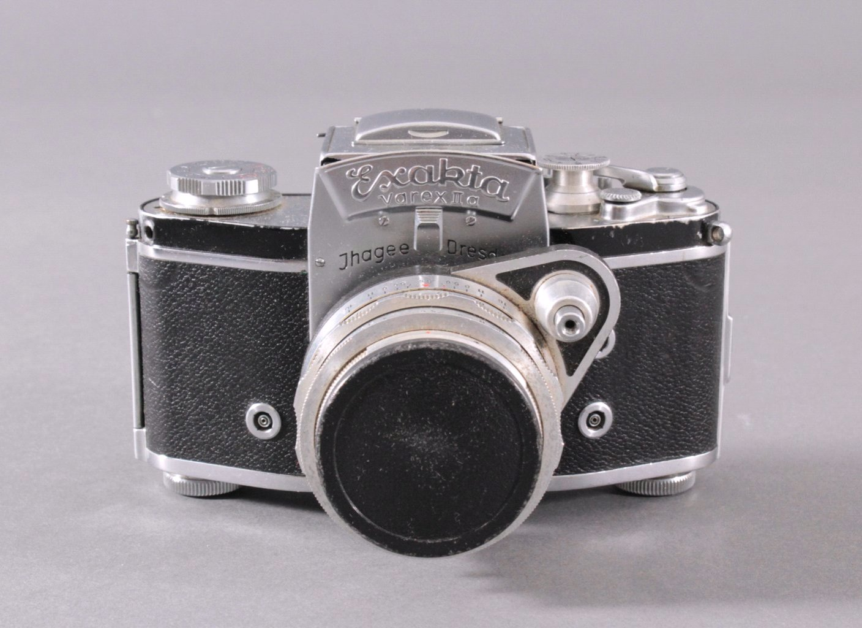 Spiegelreflex-Kamera Exakta Varex IIa. 24x36mm. 1958-1