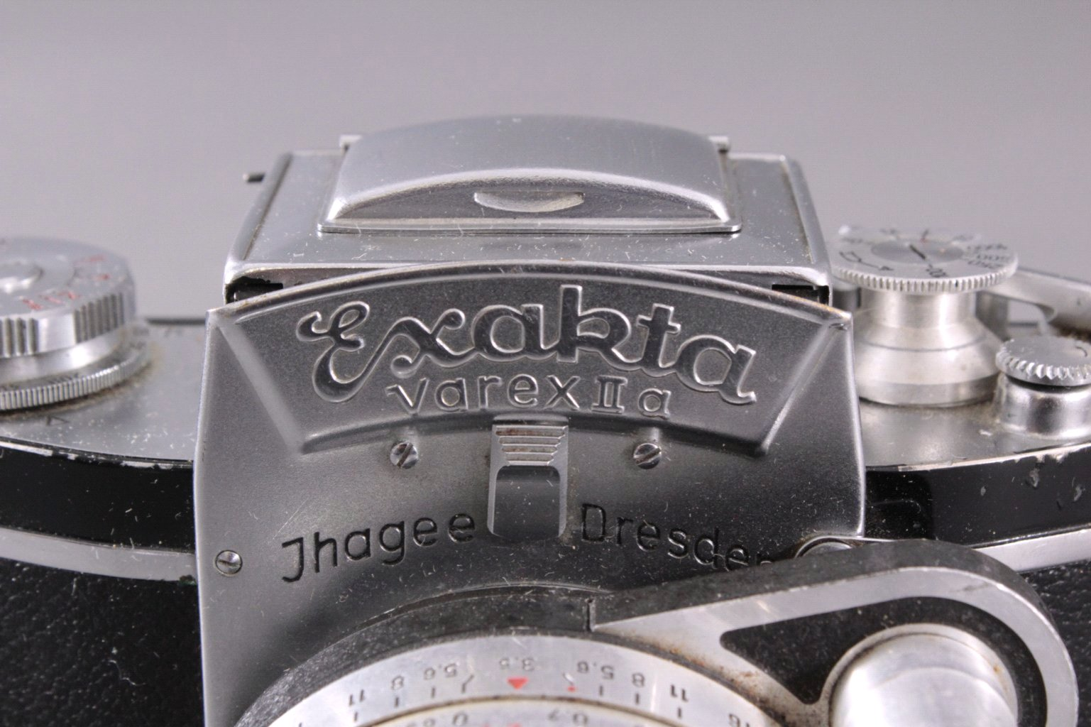 Spiegelreflex-Kamera Exakta Varex IIa. 24x36mm. 1958-3