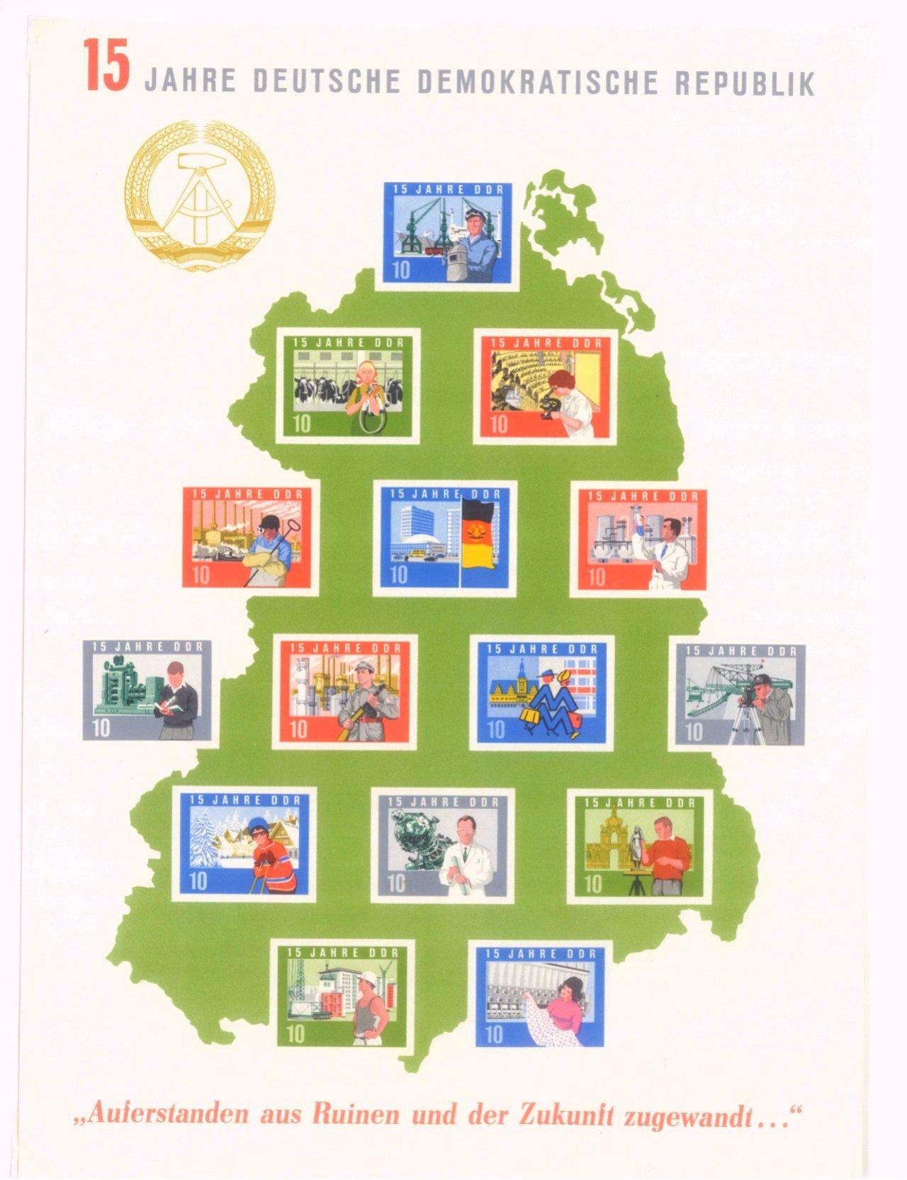 Briefmarkensammlung DDR