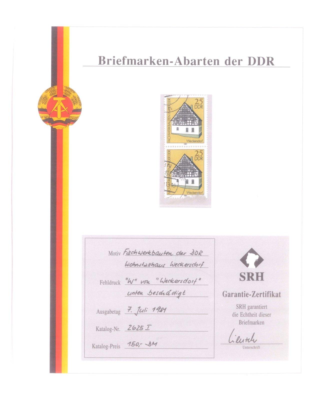 Briefmarkensammlung DDR-1