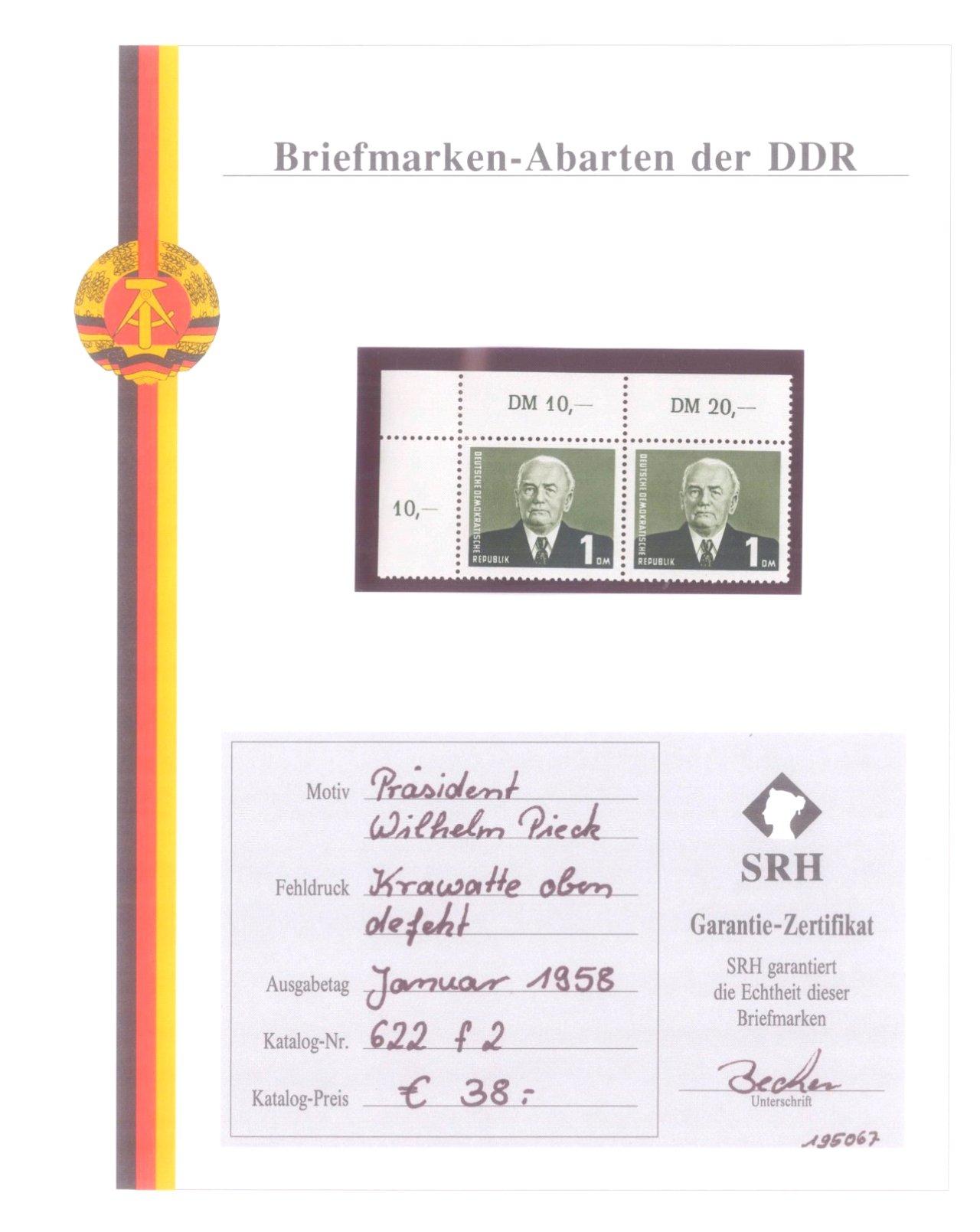 Briefmarkensammlung DDR-2