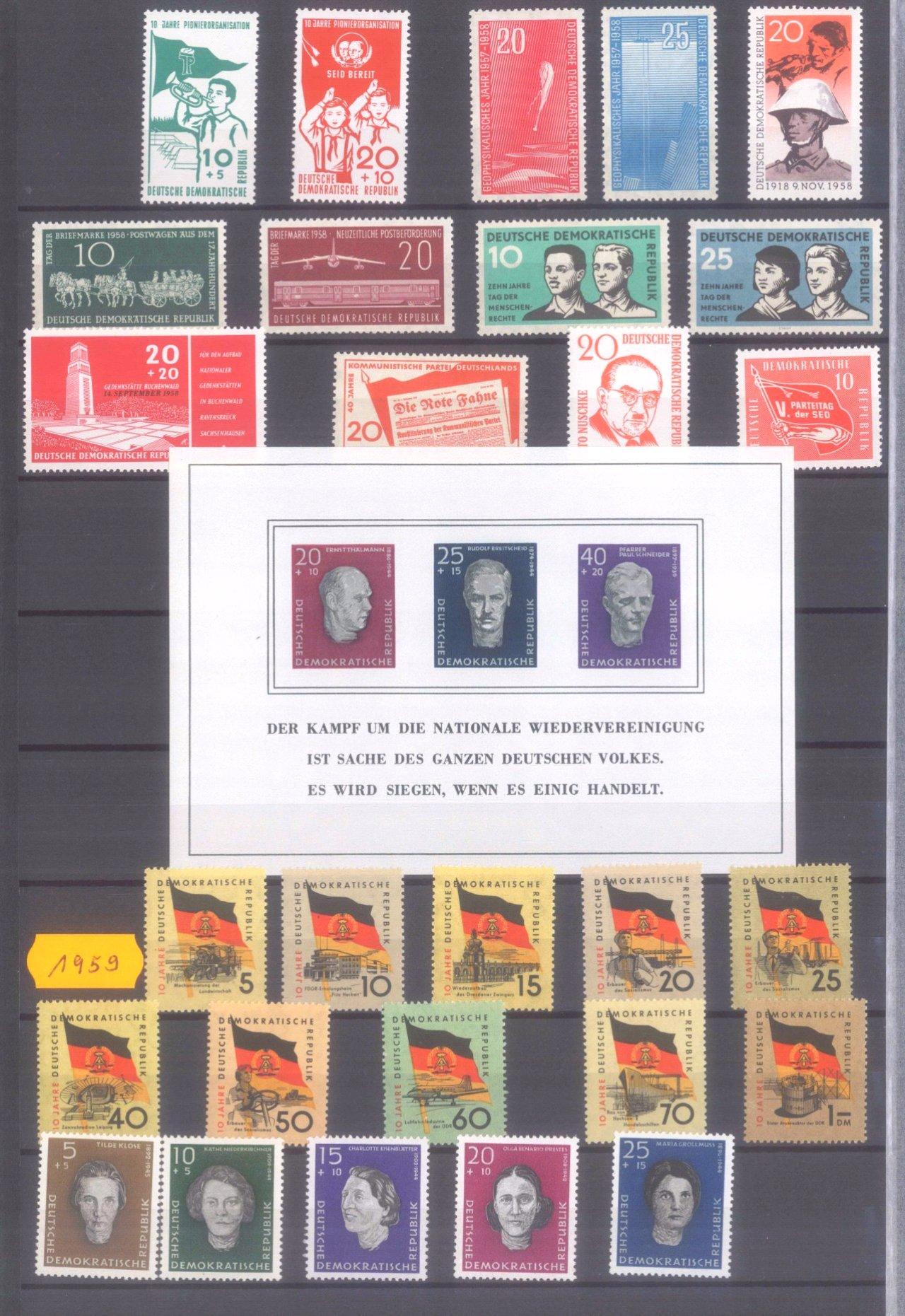 Briefmarkensammlung DDR-4
