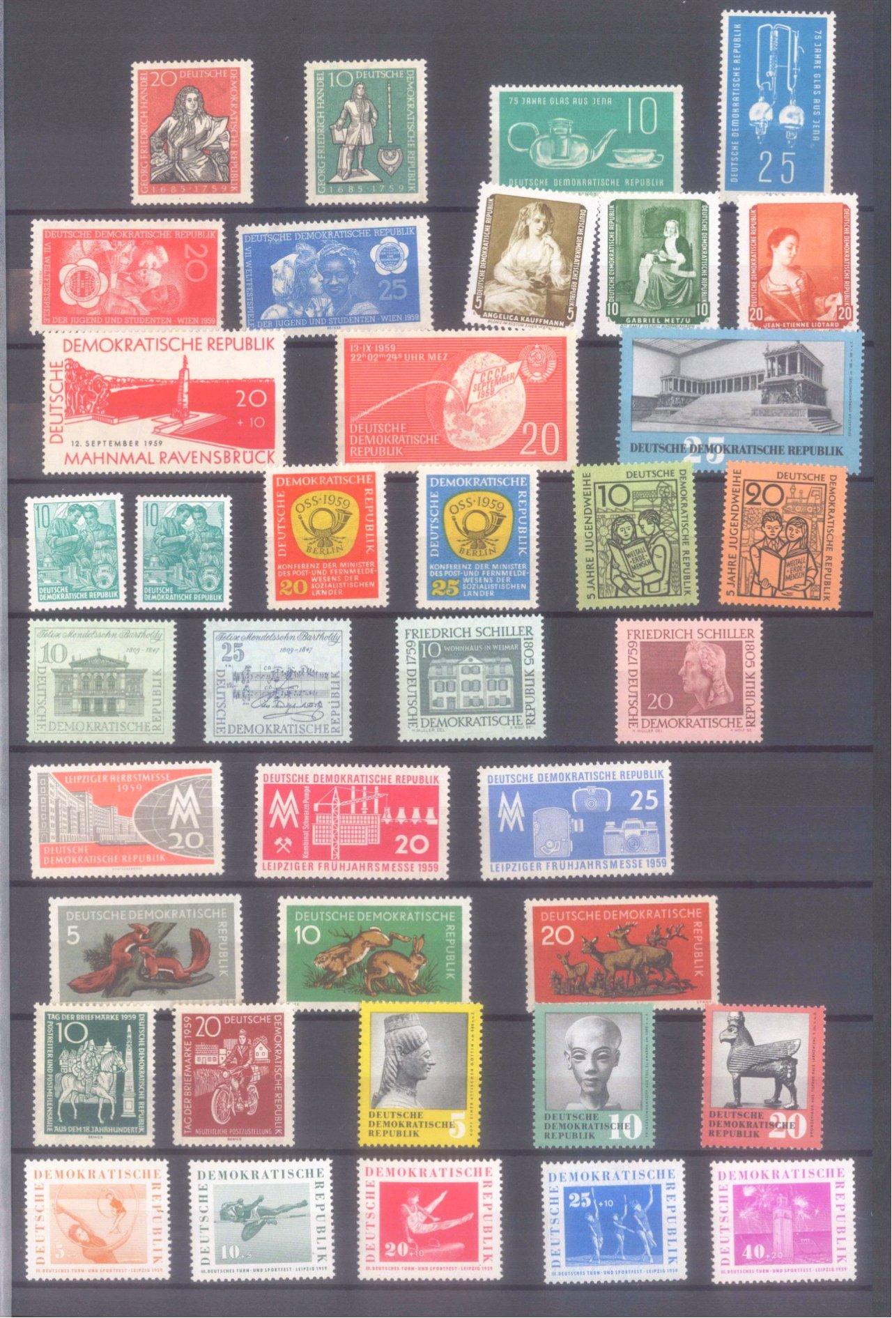 Briefmarkensammlung DDR-6