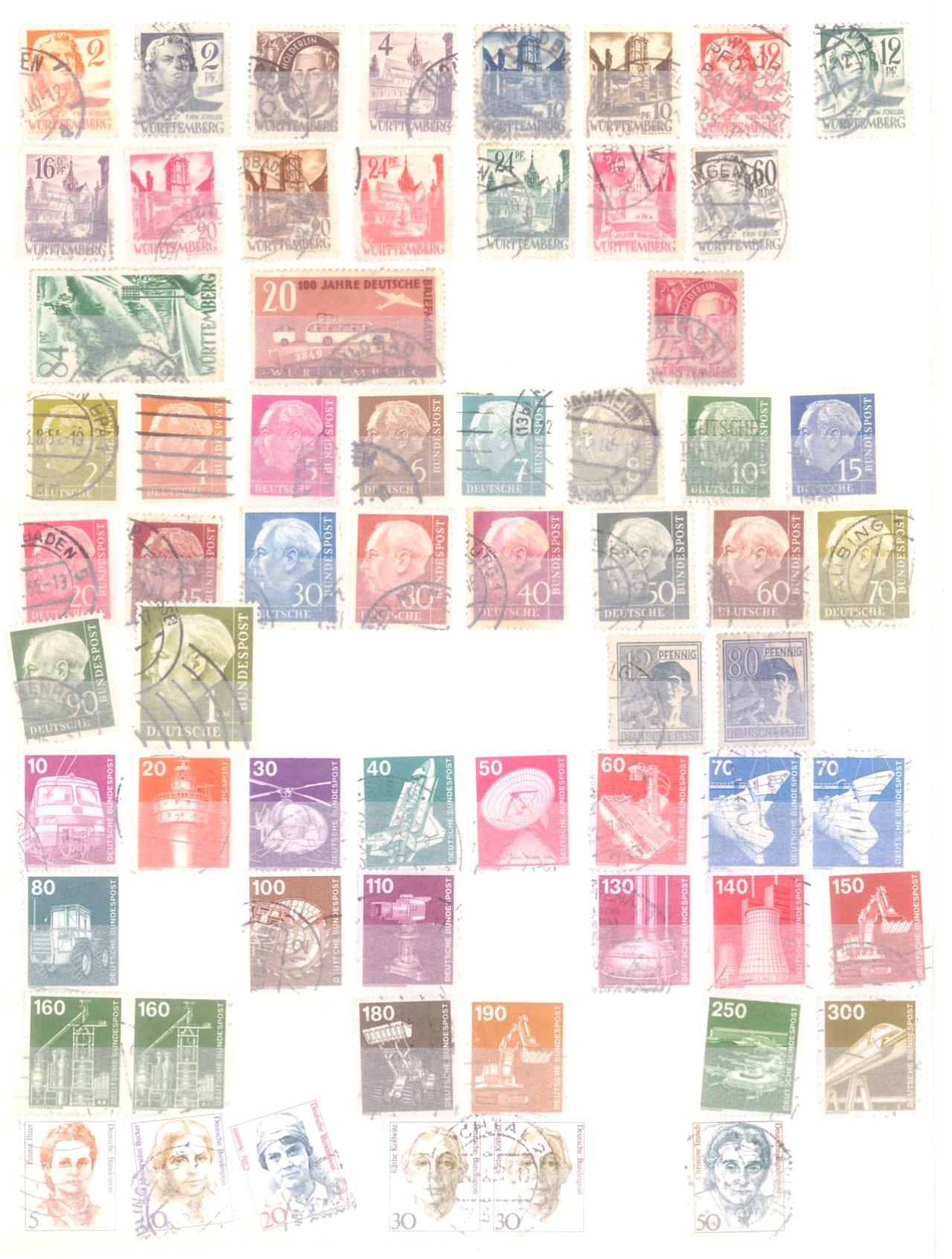 Kleine Sammlung Deutsches Reich, Bund, Alle Welt, DDR-6