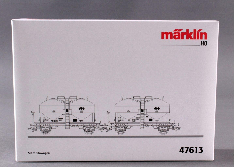 Märklin 47613 2er Set Silowagen der SBB-2