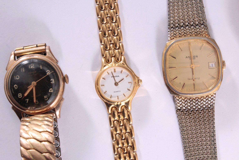 5 Armbanduhren, Herren und Damen-1