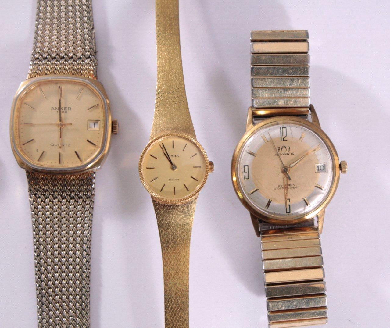 5 Armbanduhren, Herren und Damen-2