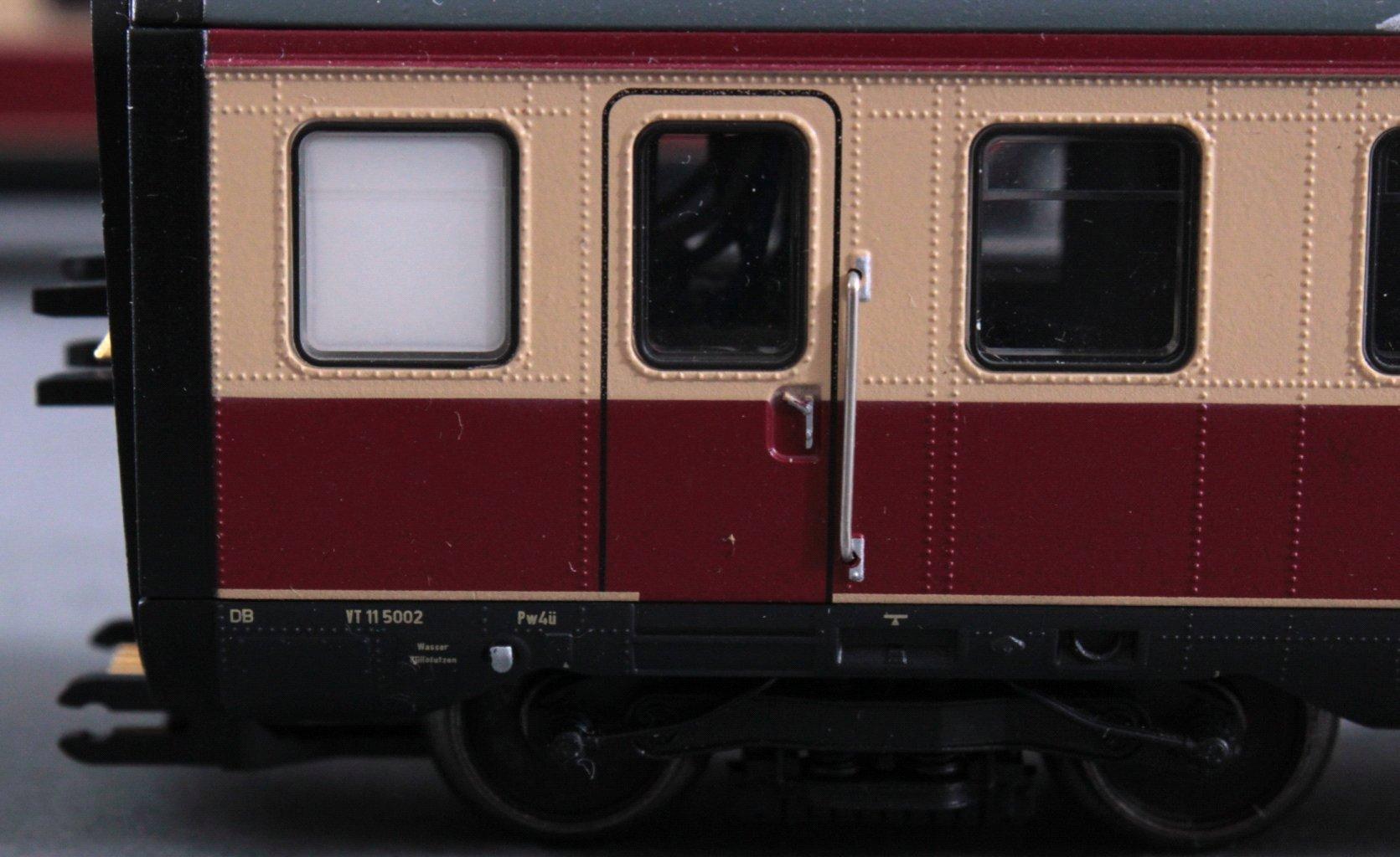 Märklin H0 37605 Trans Europ Express Dieseltriebzug mit-1