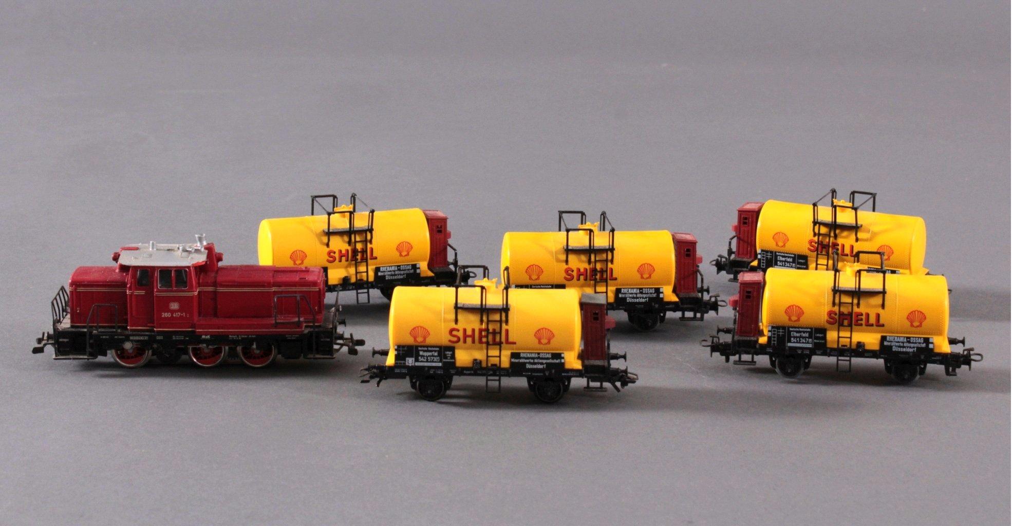 Märklin H0 3665 Diesel-Lok BR 260 417-1 der DB mit