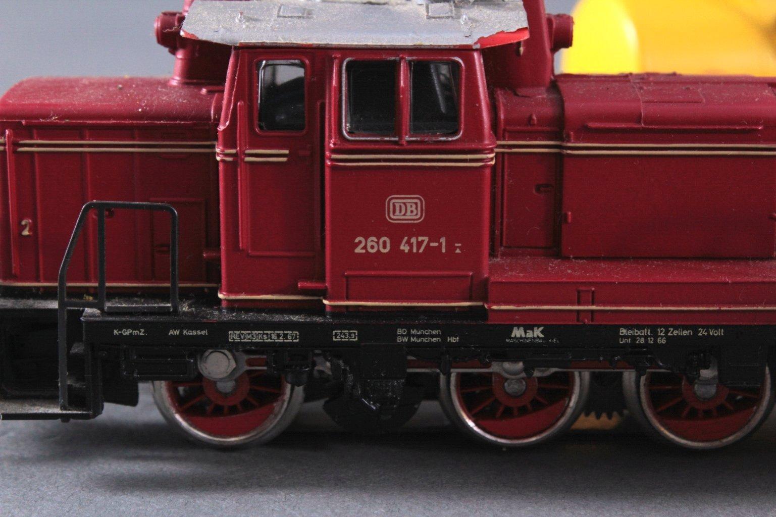 Märklin H0 3665 Diesel-Lok BR 260 417-1 der DB mit-2