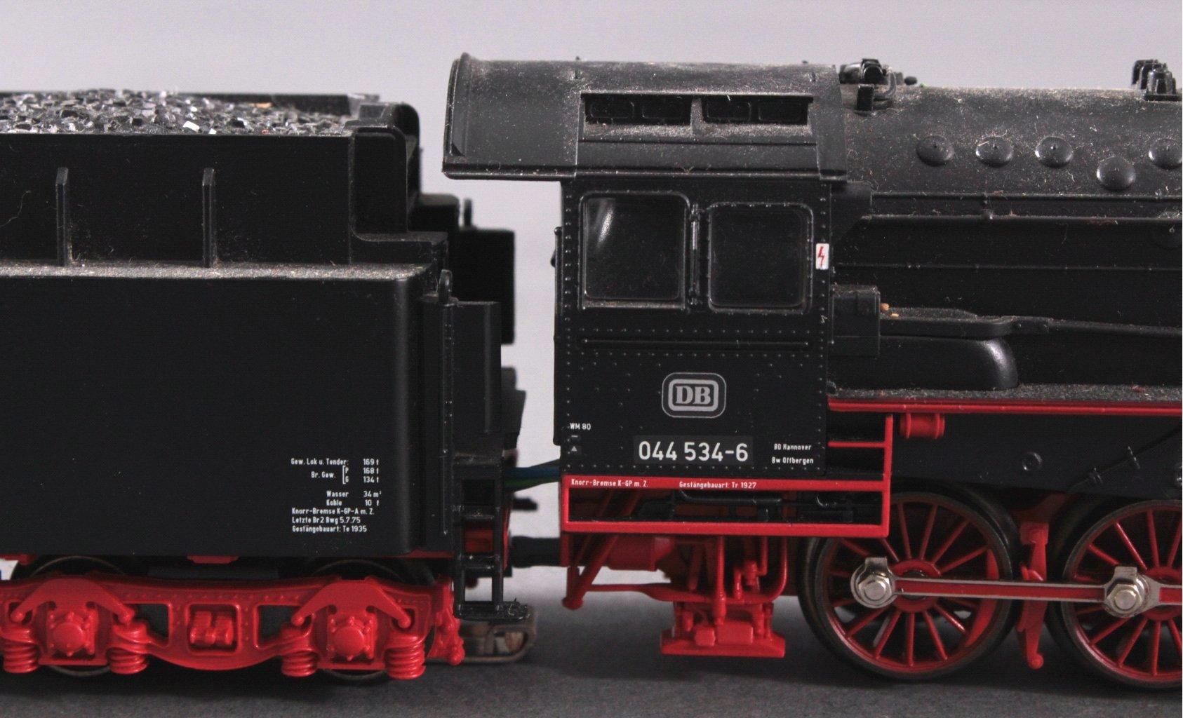 Märklin H0 37880 Dampf-Lok BR 044 534-6 der DB mit-2