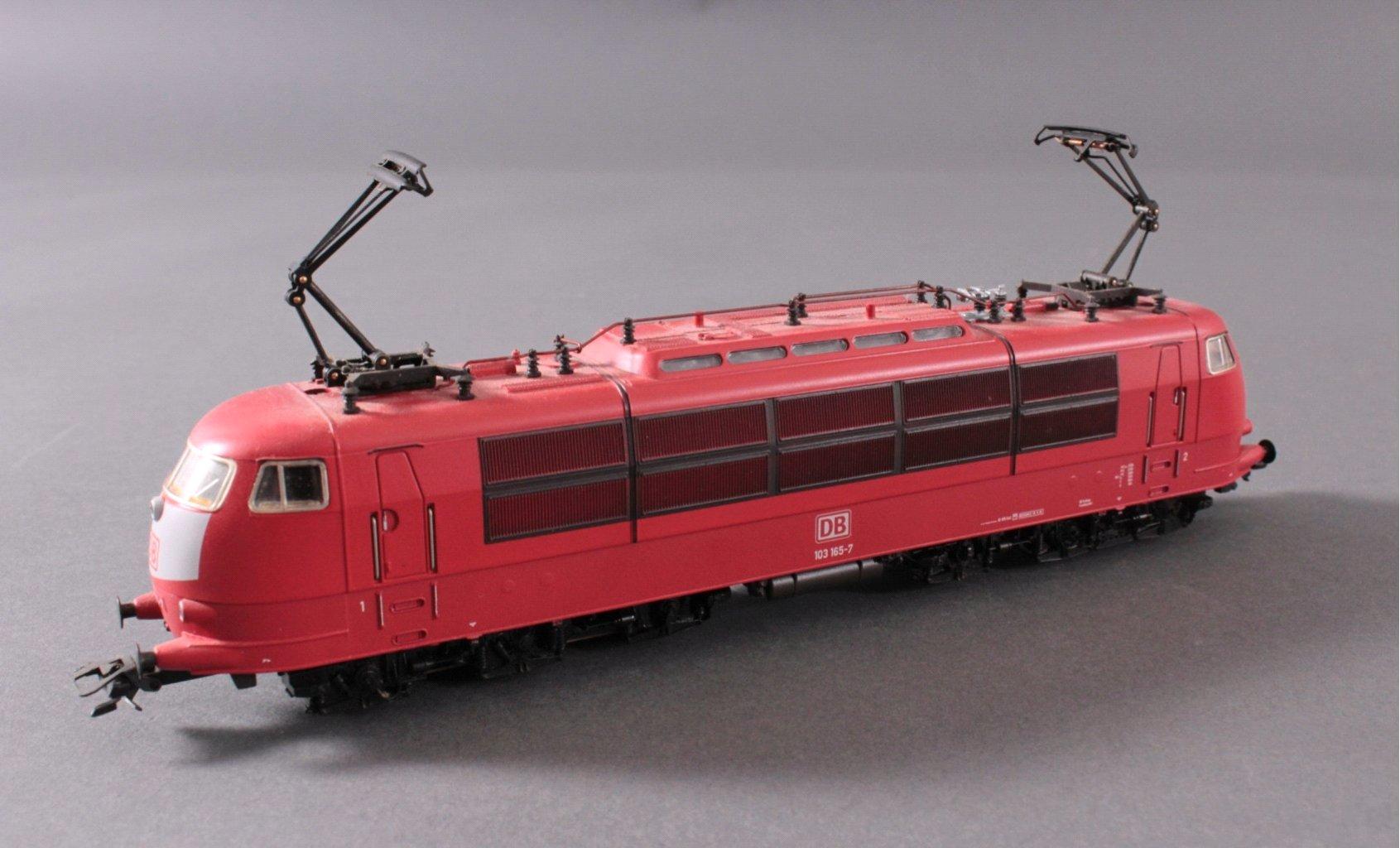 Märklin H0 33572 E-Lok BR 103 165-7 der DB rot mit