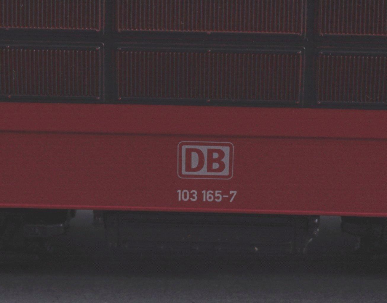 Märklin H0 33572 E-Lok BR 103 165-7 der DB rot mit-2