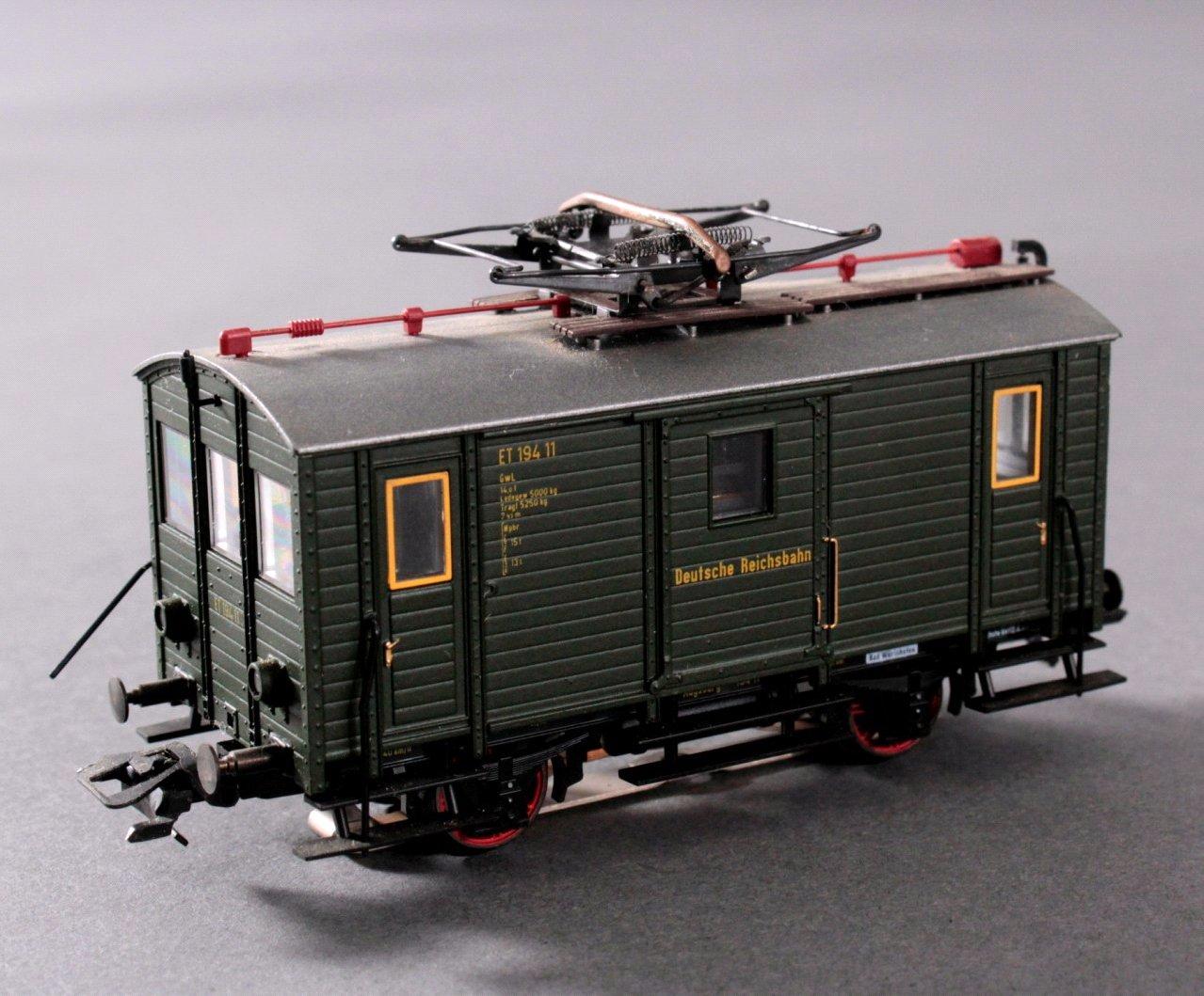 Märklin H0 3686 Gepäcktriebwagen ET 194 11 DRG grün mit-1