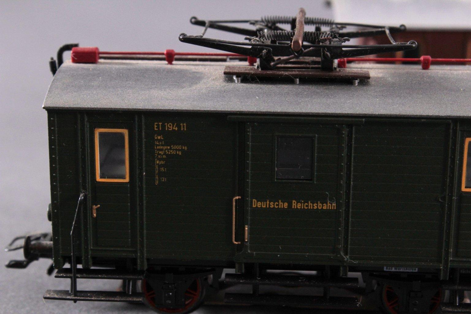 Märklin H0 3686 Gepäcktriebwagen ET 194 11 DRG grün mit-2