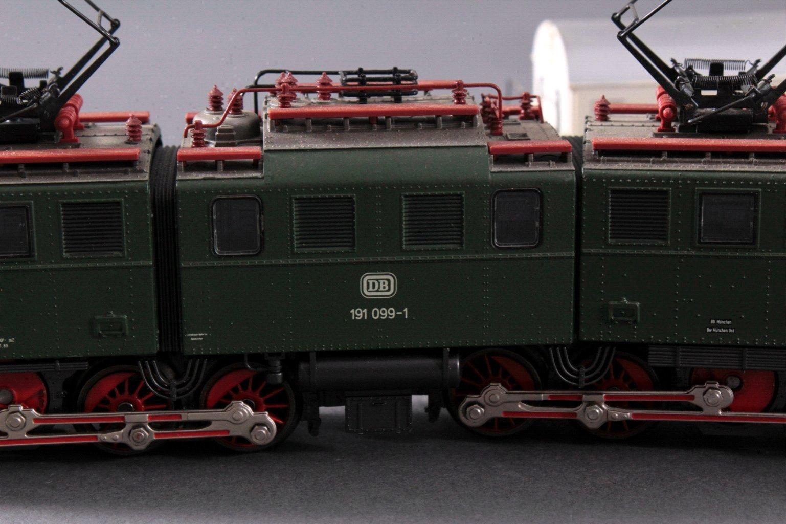 Märklin H0 3629 E-Lok BR 191 033-7 DB in grün mit-2