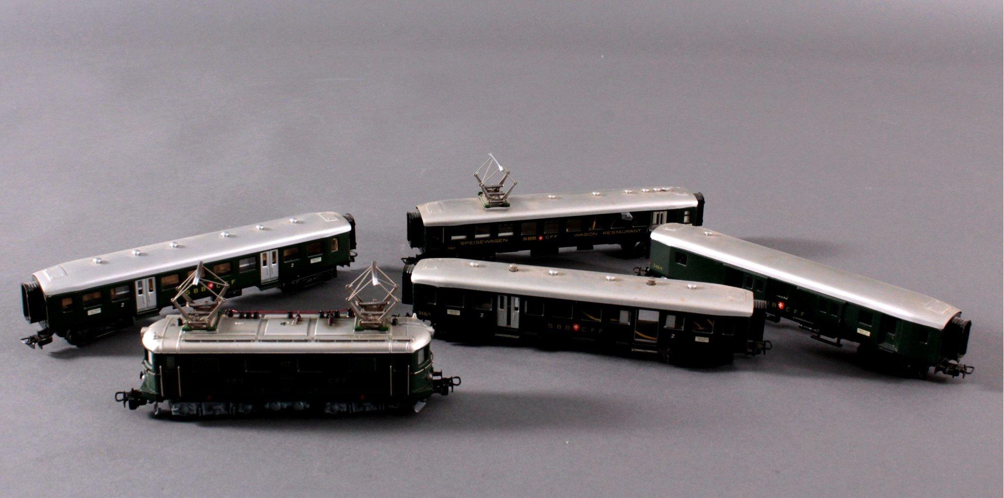 Märklin H0 RET 800 E-Lok SSB in grün mit