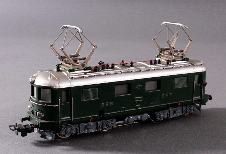 Märklin H0 RET 800 E-Lok SSB in grün mit-1