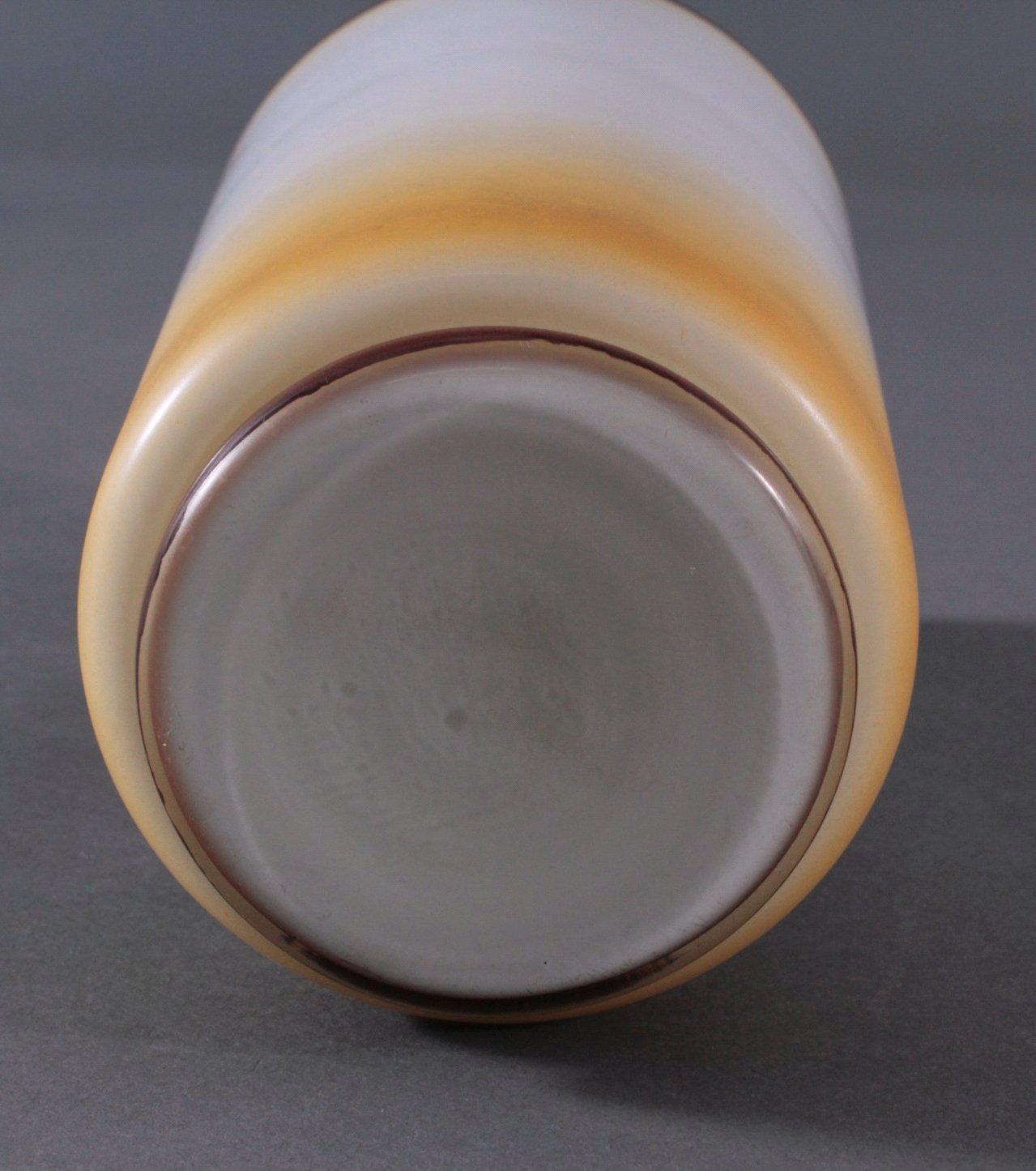 Zylindrische Vase auf rundem Standring um 1900-2
