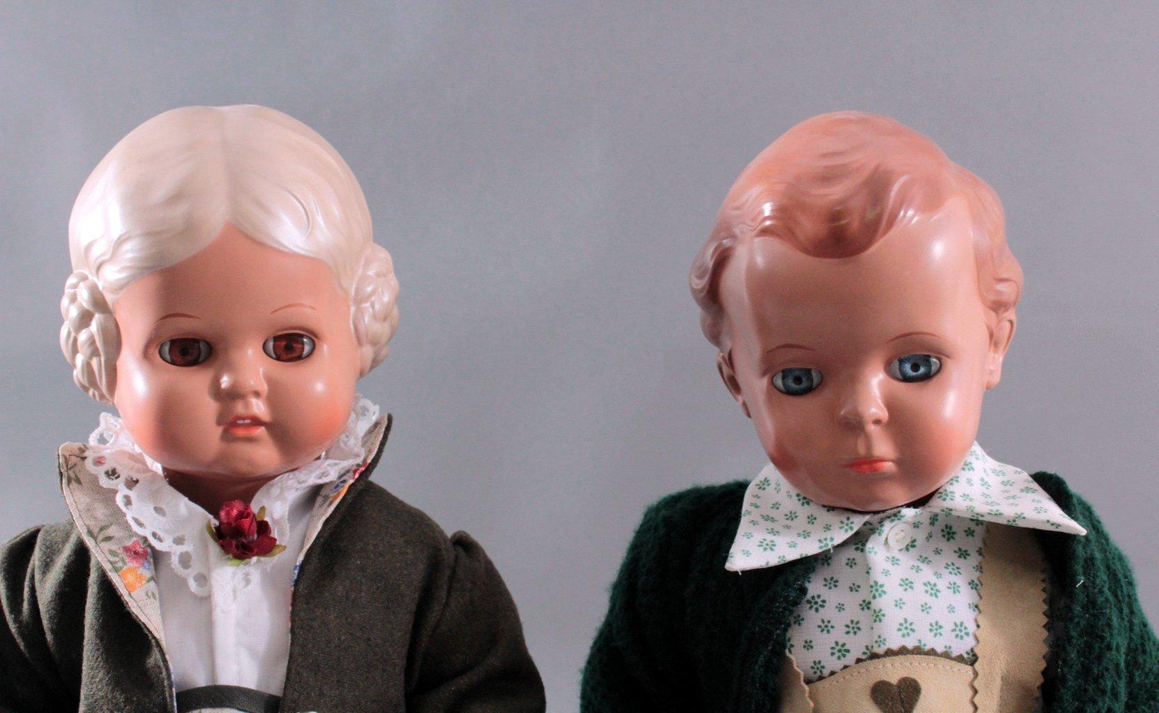 Schildkröt Puppenpaar Bärbel und Hans-1